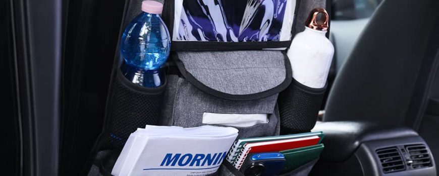 car with seat storage