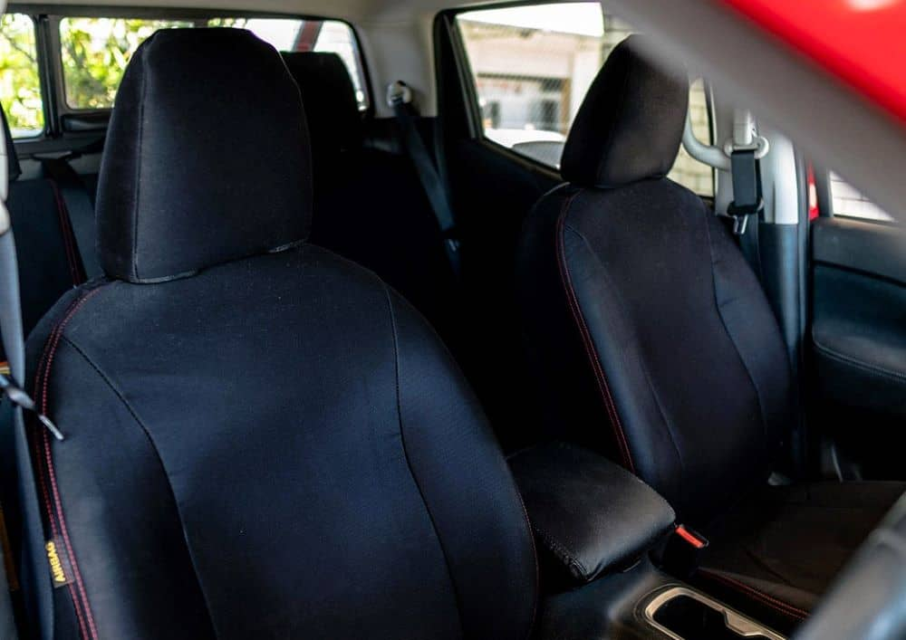 Seat covers protects your car seats from wear and tear.